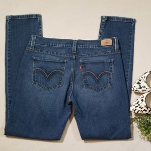 Levi's 524 Too Superlow Skinny Jeans Size 9 Short